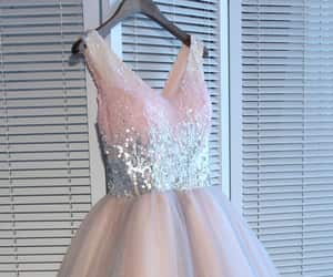 beauty, homecoming dress, and short prom dress image