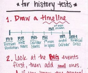 study, dates, and history image