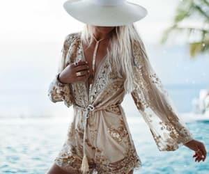 summer, boho, and fashion image