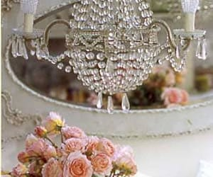 shabby chic chandelier image