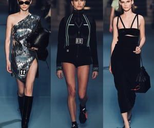 fashion show, hailey, and runway image