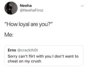 crush, funny, and joke image