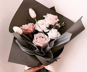 birthday, flowers, and happy image