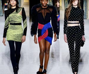 fashion show, runway, and Balmain image