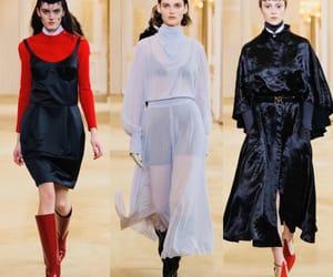 fashion show, nina, and runway image