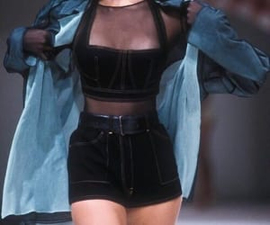 fashion, black, and 90s image