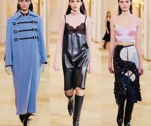 nina, runway, and paris fashion week image