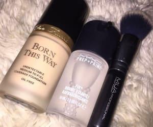 makeup, beauty, and mac image