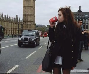 beautiful, girl, and london image
