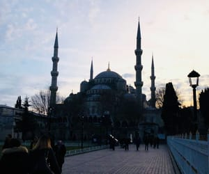 adventure, blue mosque, and travel image