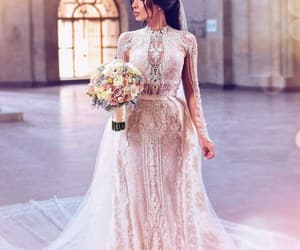dress, fashionable, and flowers image