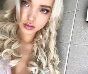 blonde, make-up, and Queen image