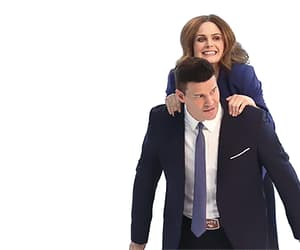 david boreanaz and emily deschanel image