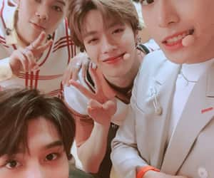 johnny, doyoung, and nct image