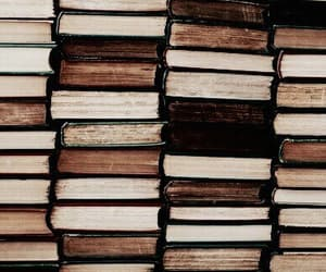 aesthetic, books, and reading image