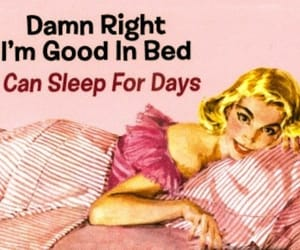 sleep, bed, and pink image