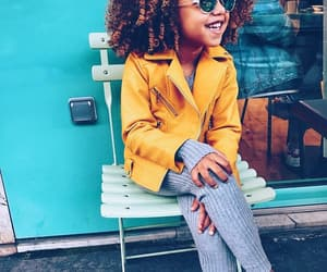 Afro, chic, and clothes image