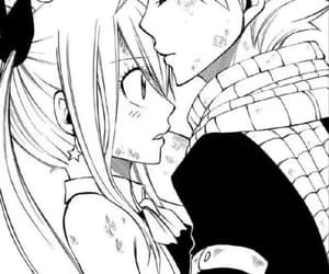 anime, natsu, and cute couple image