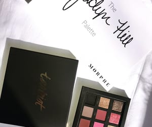cosmetics, makeup, and palette image