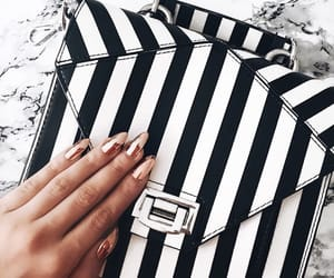 black and white, chic, and classy image