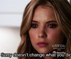 quotes, sorry, and pretty little liars image