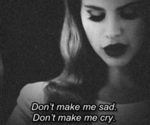 sad, cry, and lanadelrey image