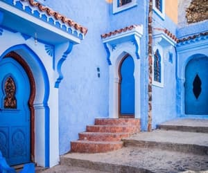 morocco and blue image