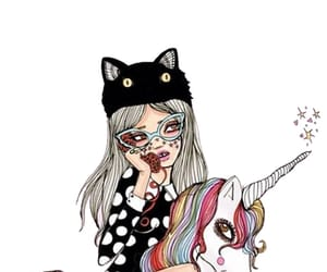 unicorn, valfre, and art image