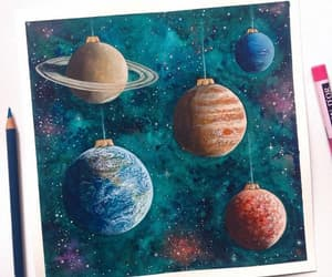 planets, blue, and earth image