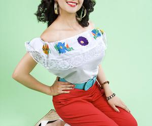 Pin Up, mexican, and maritza martini image