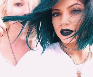 blue, haïr, and blue hair image