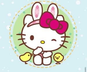 bunny, ears, and easter image