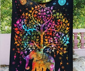 tapestries, mandala tapestry, and wall throw image