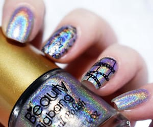 glitter, holographic, and movies image