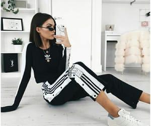 adidas, aesthetic, and hoodie image