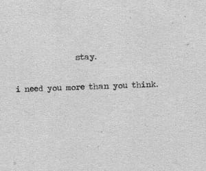 stay, quotes, and love image
