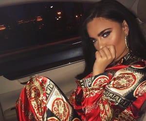 arab, beauty, and car image