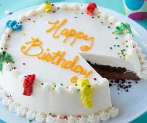 aesthetic, birthday, and birthday cake image