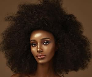 Afro, beauty, and dark skin image