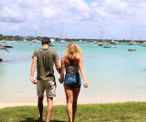 couple, idylle, and mauritius image