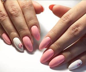 nail art, white, and nails image