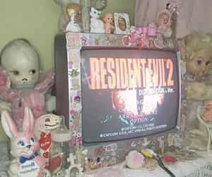 aesthetic, pink, and doll image