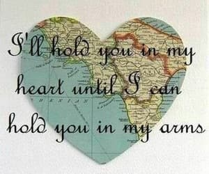 love, heart, and distance image