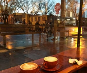 coffee, coffee shop, and cozy image