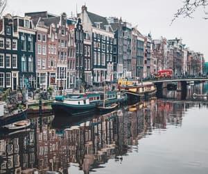 city, adventure, and amsterdam image