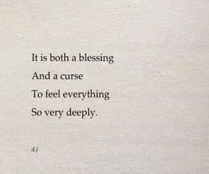 quotes, feelings, and blessing image