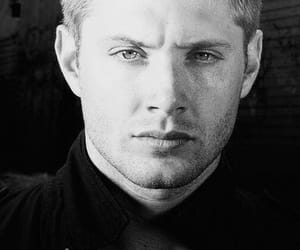 aesthetic, black and white, and handsome image