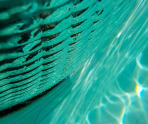 abstract photography, green, and turquoise image