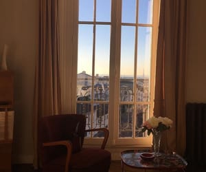 window, paris, and room image
