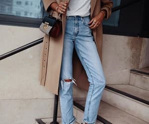denim, glamour, and ootd image